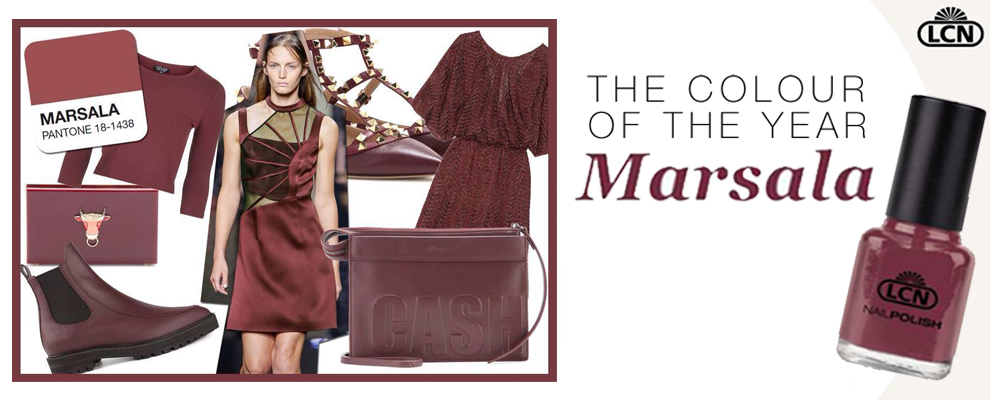 Pantone Color of the Year: Marsala!