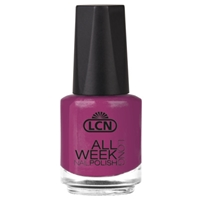 All Week Long - think pink nail polish, extended wear polish, top coats, nails, nail art