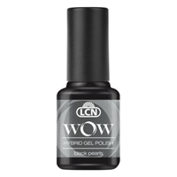 WOW Hybrid Gel Polish - black pearls hybrid gel polish, gel polish, shellac, nail polish, fast drying nail polish