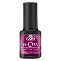 WOW Hybrid Gel Polish - bordeaux temptation hybrid gel polish, gel polish, shellac, nail polish, fast drying nail polish