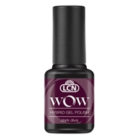 WOW Hybrid Gel Polish - dark diva hybrid gel polish, gel polish, shellac, nail polish, fast drying nail polish