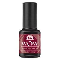 WOW Hybrid Gel Polish - fuchsia babe hybrid gel polish, gel polish, shellac, nail polish, fast drying nail polish