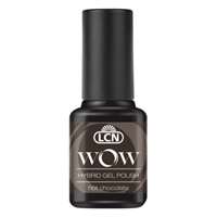 WOW Hybrid Gel Polish - hot chocolate hybrid gel polish, gel polish, shellac, nail polish, fast drying nail polish