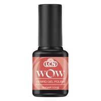 WOW Hybrid Gel Polish - sunset coral hybrid gel polish, gel polish, shellac, nail polish, fast drying nail polish