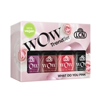 "WOW Hybrid Trend Set ""What Do You Pink?"" hybrid gel polish, gel polish, shellac, nail polish, fast drying nail polish"