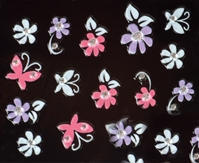 Nail Art Stickers - Butterflies