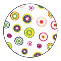 Nail Art Stickers - Funny Circles