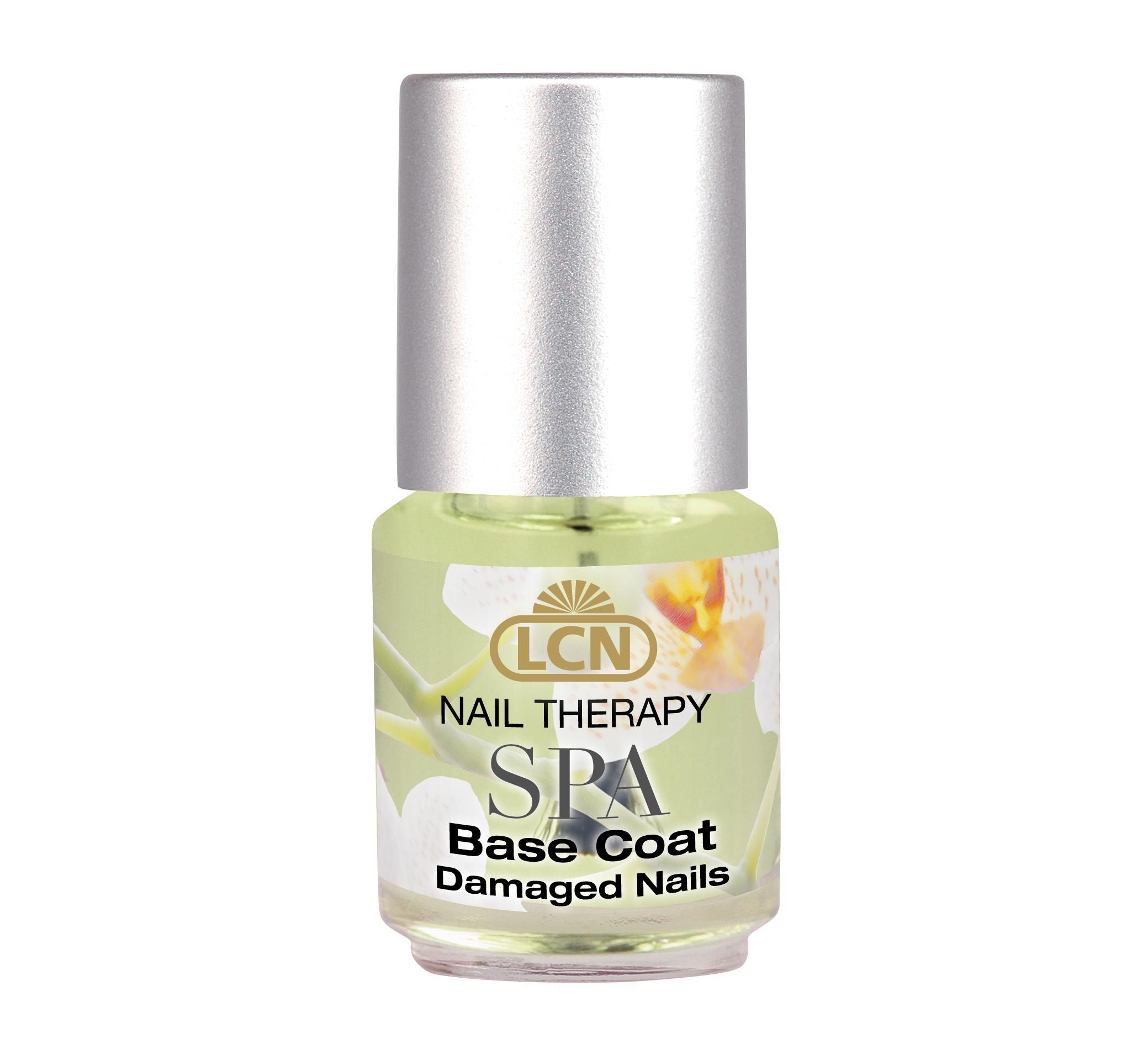 SPA Nail Therapy Base Coat, damaged nails